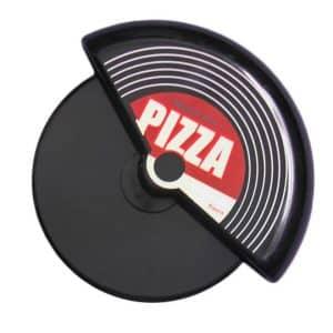 roulette à pizza disque vinyle