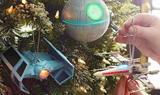 boules de sapin vaisseaux star wars