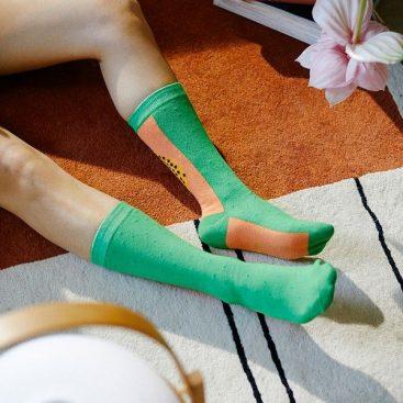 chaussettes papaye