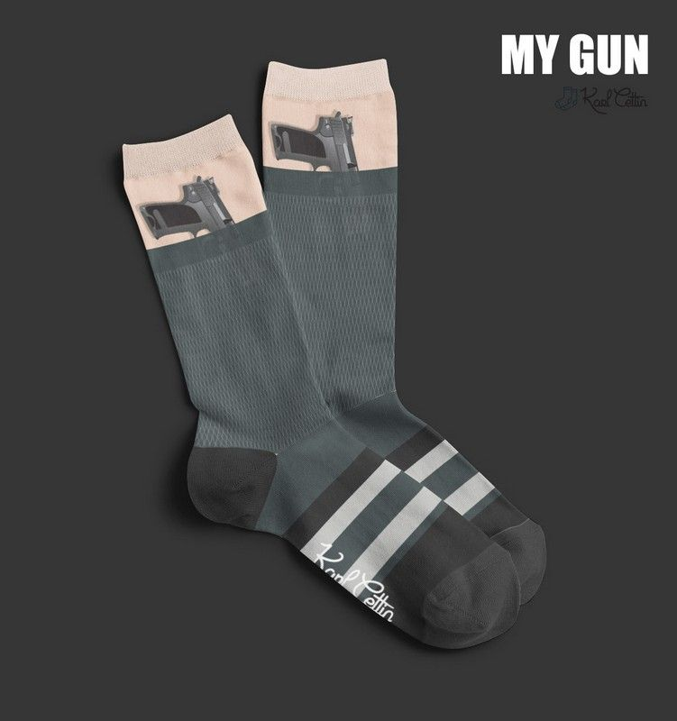 chaussettes pistolet