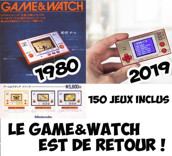 jeu game and watch