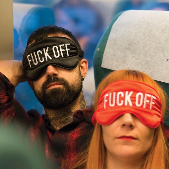 masque de sommeil fuck off