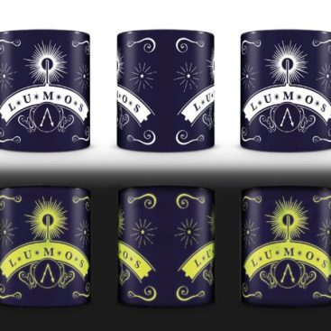 mug harry potter lumos