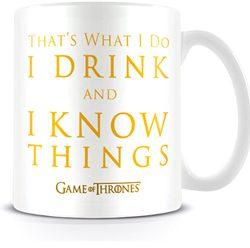 mug I drink and I know things