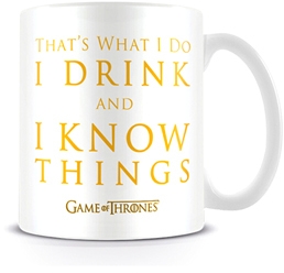 mug I drink and I know things