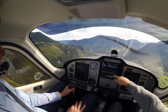 cadeau initiation pilotage avion