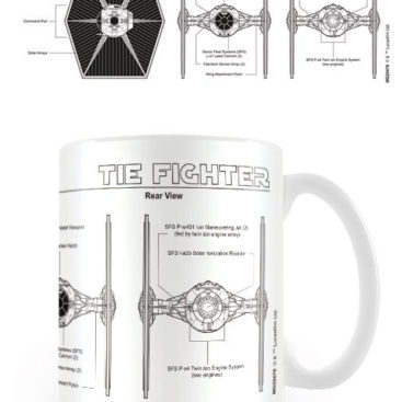 mug star wars tie fighter