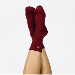 chaussettes coeur rouges