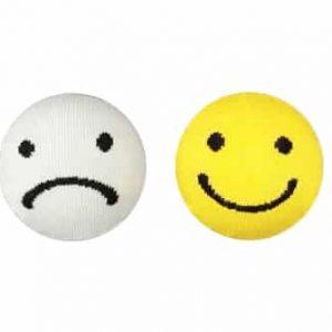 chaussettes smiley lundi vendredi