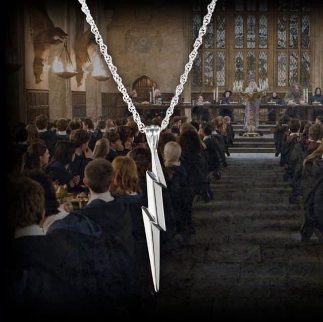 pendentif eclair Harry Potter