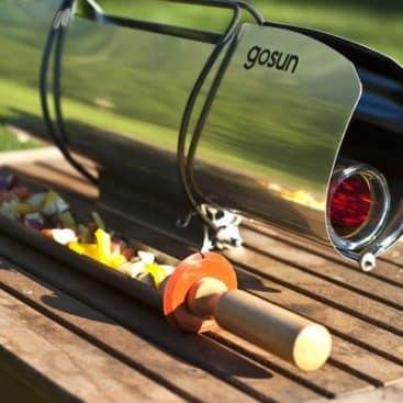 barbecue solaire portable