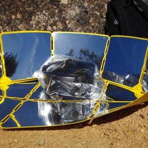 cuiseur solaire de voyage