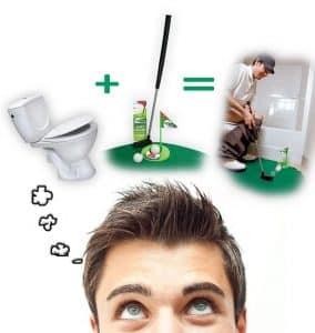 golf de toilette