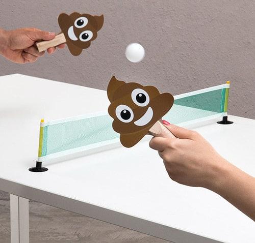 jeu ping-pong crotte