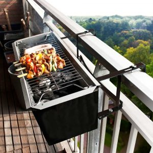 barbecue de balcon appartement