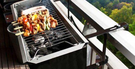 barbecue de balcon appartement