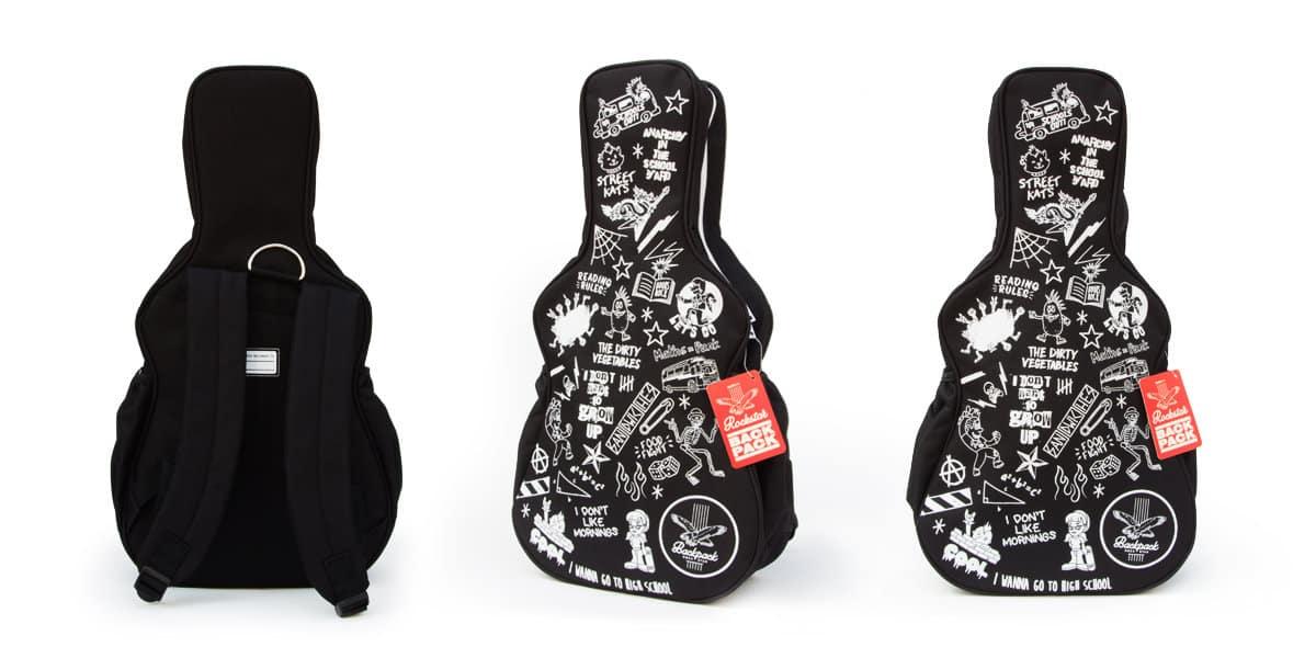 sac à dos enfant rockstar guitare