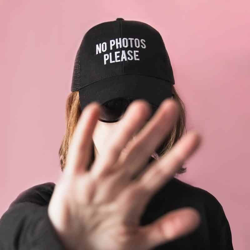 casquette no photos