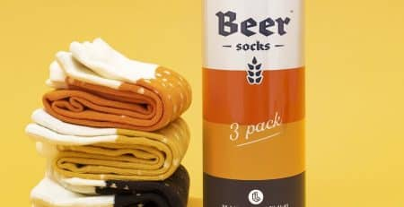 chaussettes bières pack de 3