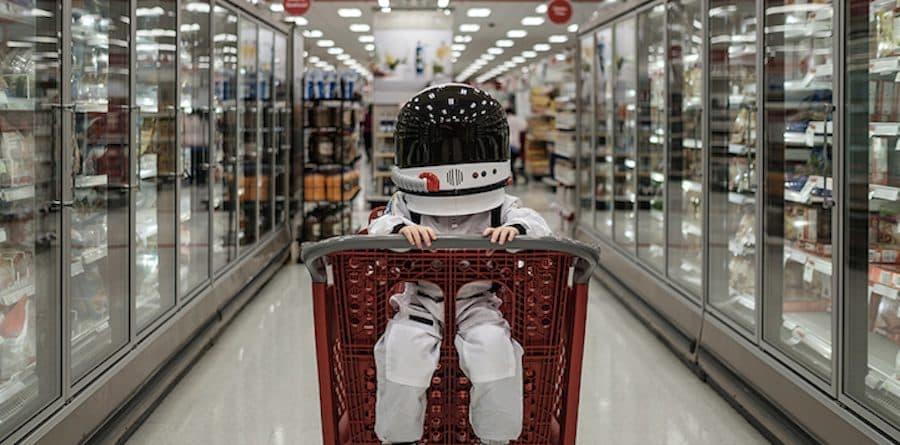 photo enfant cosmonaute