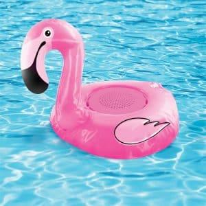 haut-parleur étanche flamant rose sans fil