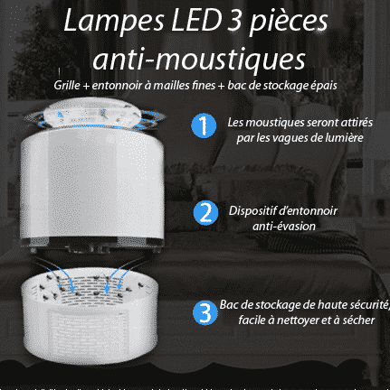 lampe anti moustique USB