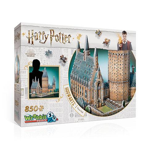 puzzle 3d harry potter poudlard