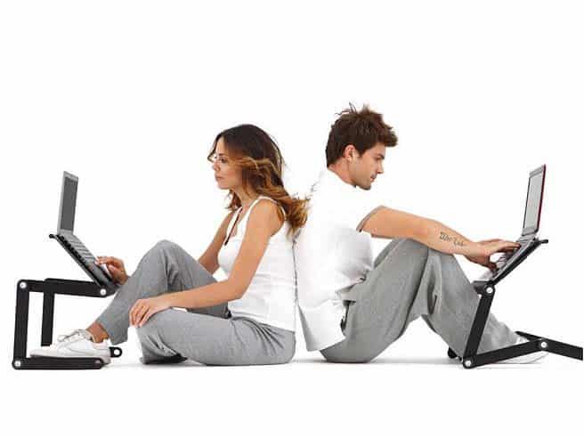 support ordinateur teletravail