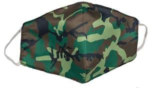 masque visage tissu insolite militaire