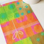 pochette papier cadeau