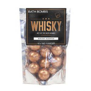 bombes de bain whisky