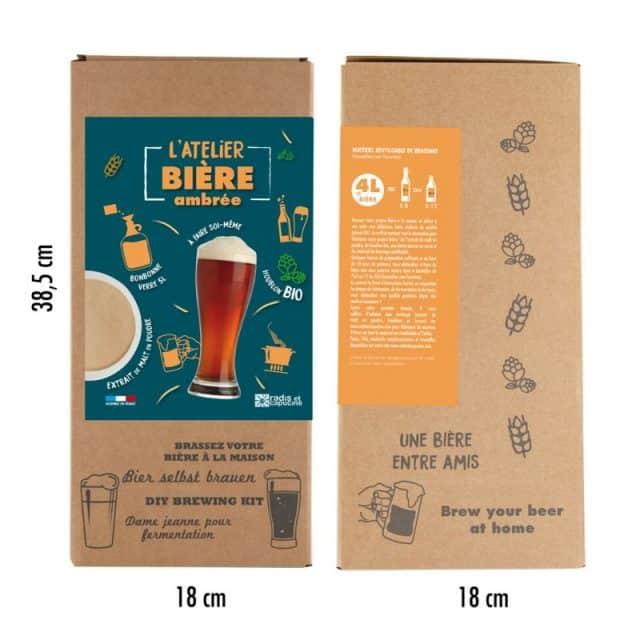 kit de fabrication biere ambrée