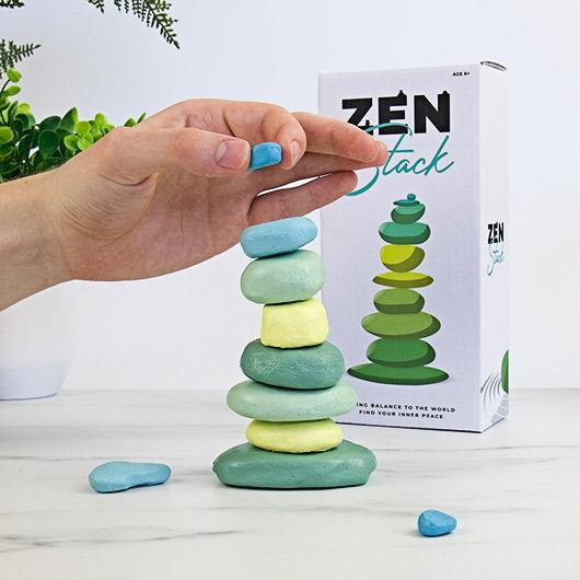 jeu empilement pierre zen