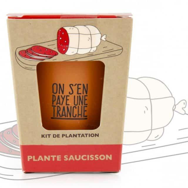 kit cadeau plante saucisson à faire pousser
