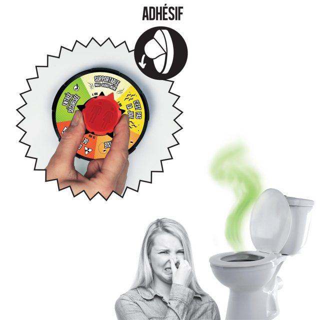 minuteur de toilettes