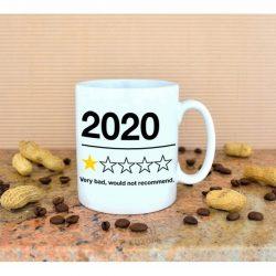 mug 2020 annee de merde