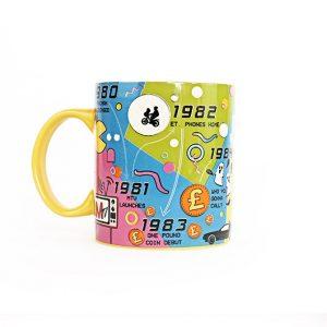 mug des années 80