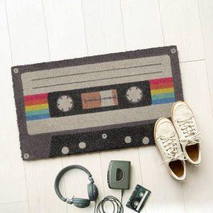 paillasson cassette années 80