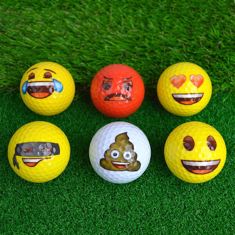 balles de golf insolites smiley