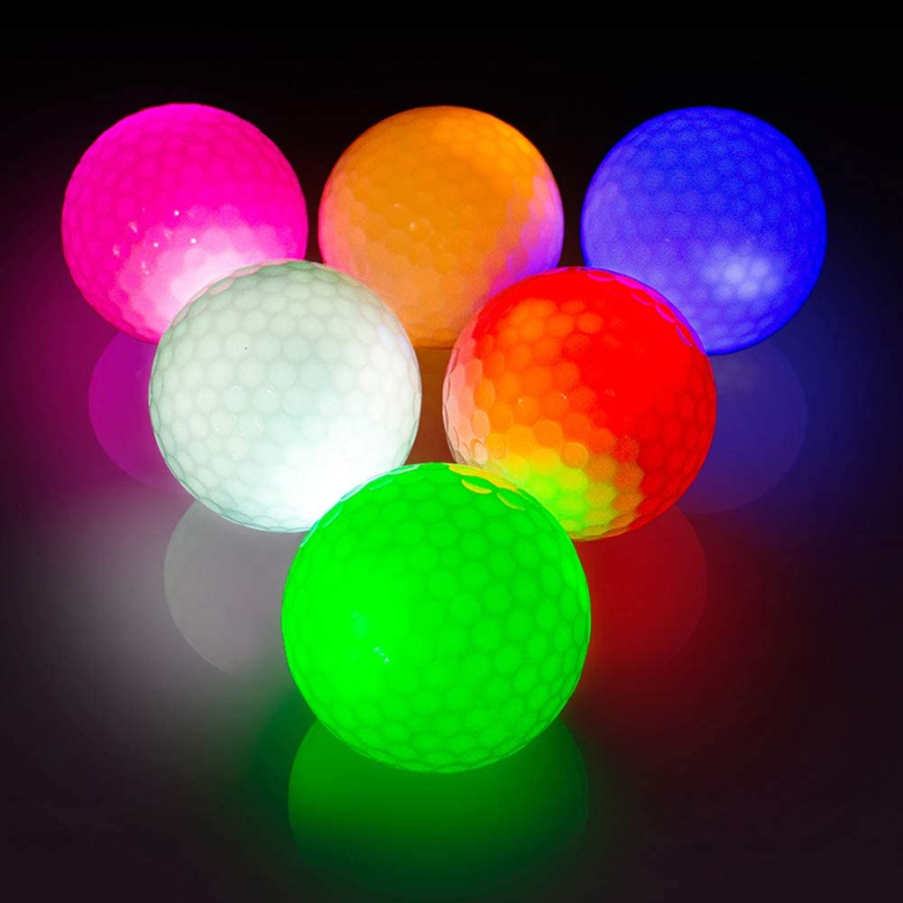 balles de golf lumineuses