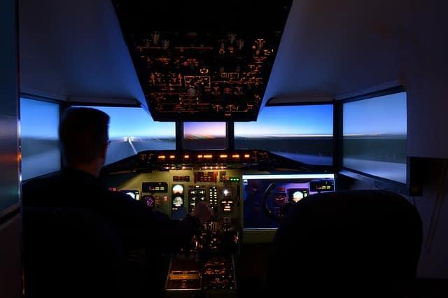 carte cadeau simulateur vol et pilotage