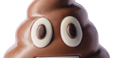 crotte en chocolat