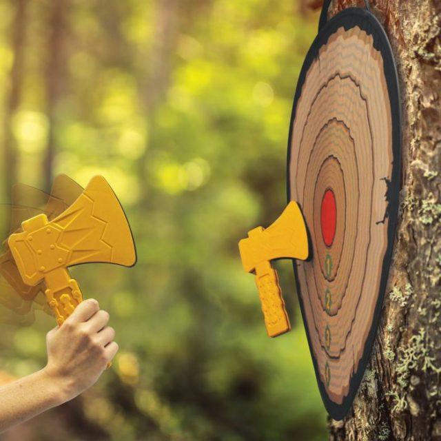 jeu de lancer de haches
