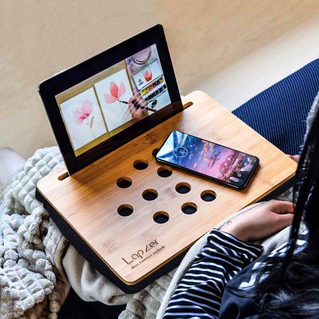 mini plateau support tablette