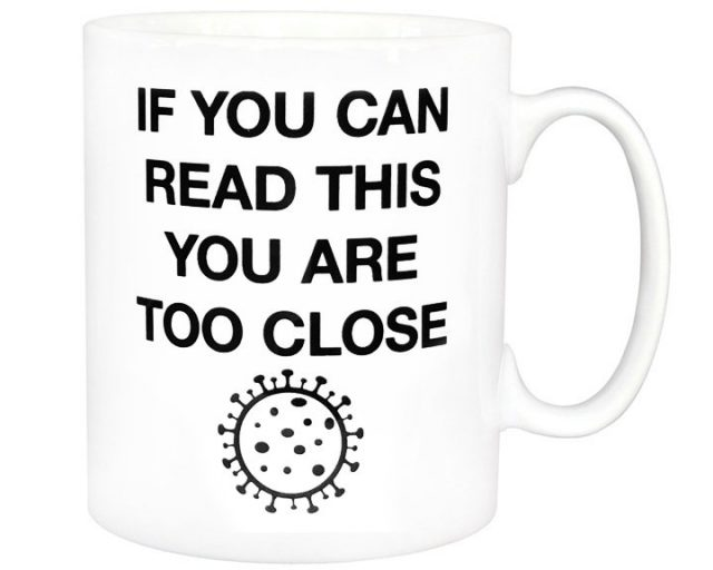 mug distanciation sociale