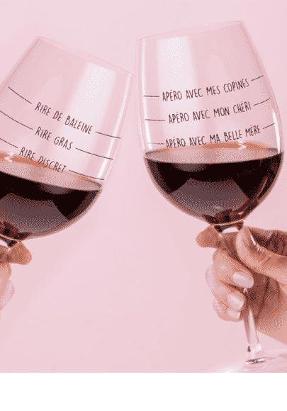 coffret deux verres vin apéro entre filles