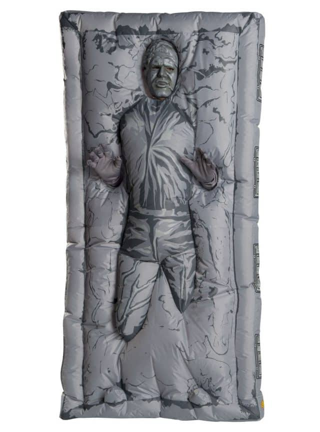 déguisement han solo carbonite