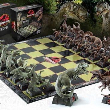 jeu d'échec dinosaure jurassic park