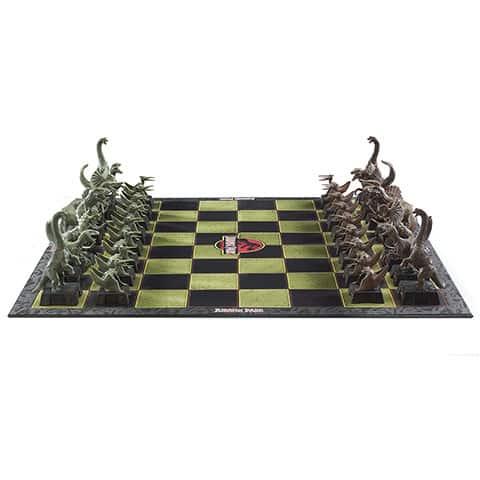 jeu d'échec jurassic parc