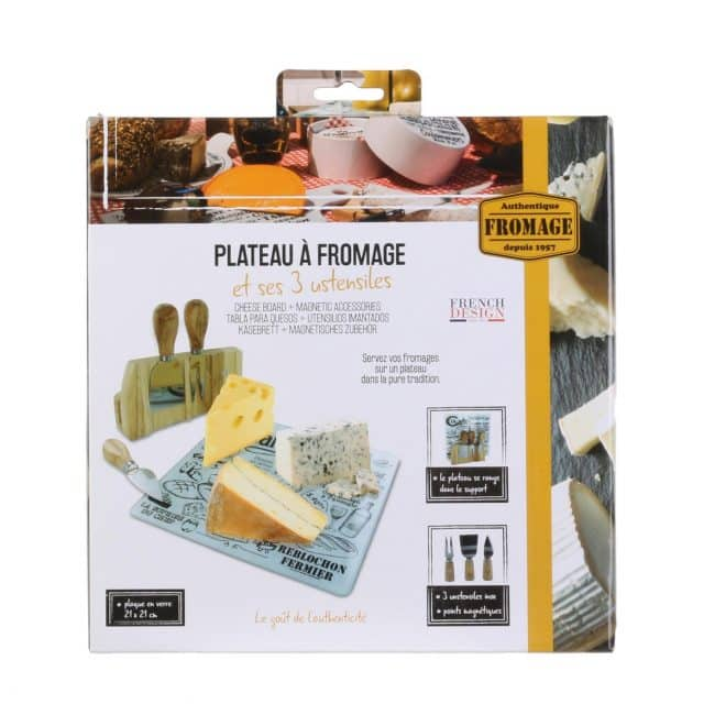 planche fromage 3 ustensiles